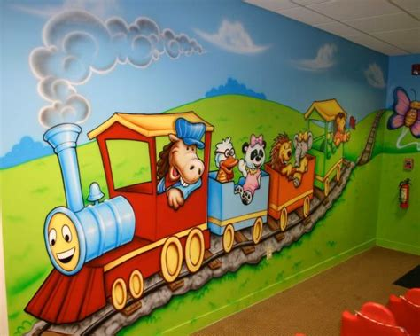 wall painting  pre primary school  surat arts