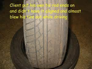 Car Tire Alignment Problem Worn Tires A Sign Of A Suspension Problem Auto Repair