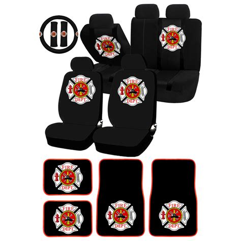 department seat covers uaa department maltese cross logo universal seatcover