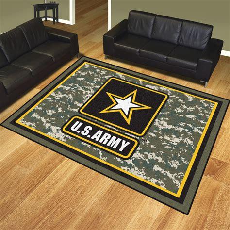 Us Army Area Rug Nylon 8 X 10 8 X 10 Area Rug