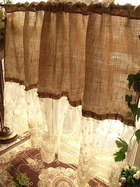 country burlap curtains best 25 burlap curtains ideas on pinterest burlap