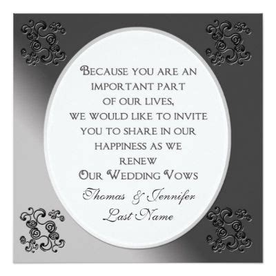 Wedding Vows Renewal Ideas by 17 Best Ideas About Vow Renewal Invitations On