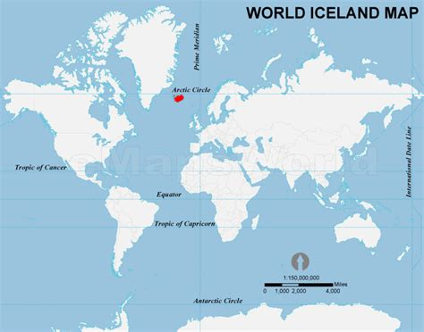world map with iceland iceland location in world map world of map