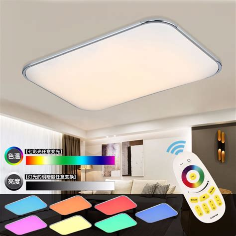Color Changing Led Ceiling Lights Modern Led Ceiling L Remote Rgb Ceiling Lights For Living Room Bedroom Remote Color