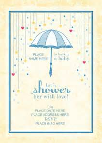 Hp Invitation Templates by Photo Duck Baby Shower Invitations Image