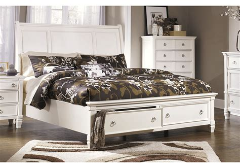 prentice bedroom set prentice king sleigh storage bedroom set lexington