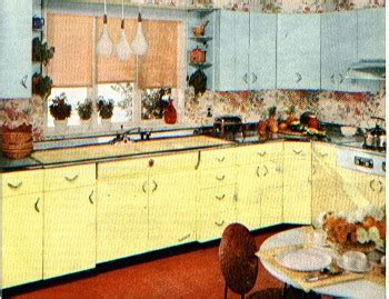 geranium rug for kitchen 50s vintage metal kitchen canisters pink how to d 233 cor kitchen in a retro fashion interior