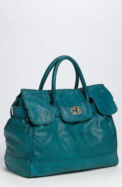 Liebeskind Pavia Silky Satchel Leather Tas liebeskind large soft leather satchel in blue aqua