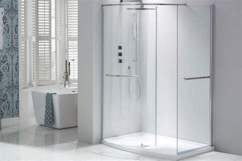 douchewand glas praxis walk in douche modern door open uiterlijk met glas en