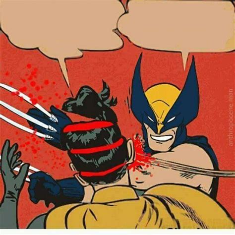 Batman Meme Template - template wolverine what the hell my parents are dead