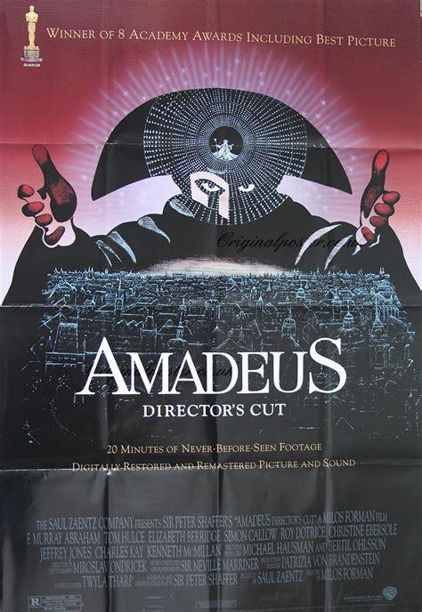 Sinensa Original amadeus original vintage poster original poster