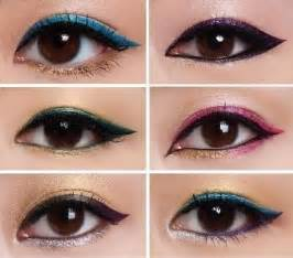 color eyeliner choose an eyeliner style according to your eye shape tjd