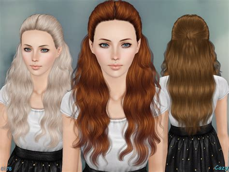 the sims resource kids hair cazy s hannah female hairstyle set