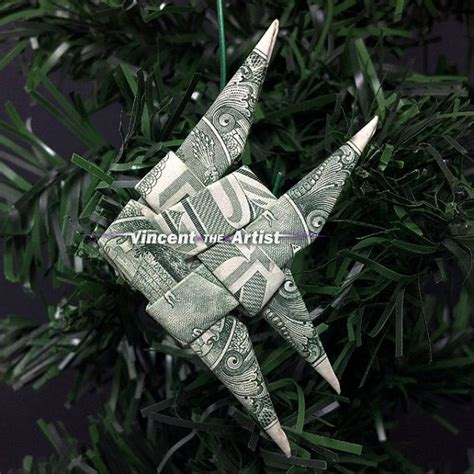 Money Fish Origami - dollar money origami gold fish oragami animal made from