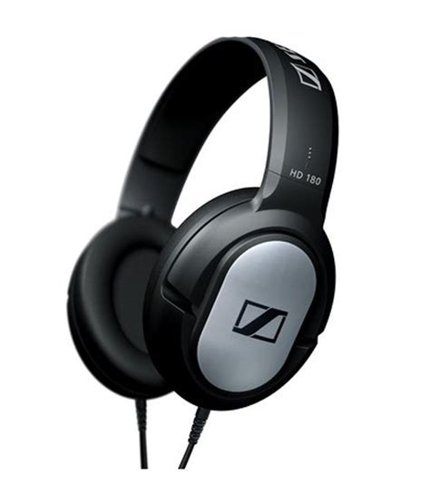 Headphone Sennheiser Hd 180 buy sennheiser hd 180 ear headphone at best price in india snapdeal