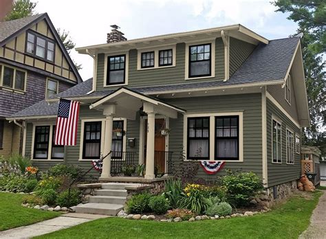 best 25 craftsman exterior colors ideas on gray house white trim exterior house