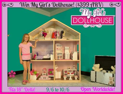 doll house girls win this huge my girl s dollhouse 399 arv ends 10 6 ww