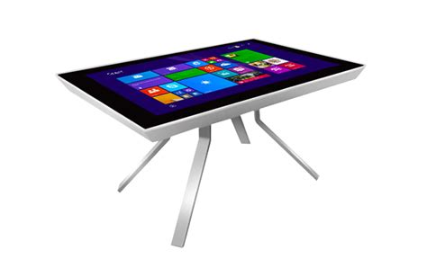 4k multitouch table touchscreen tables idesign cafe