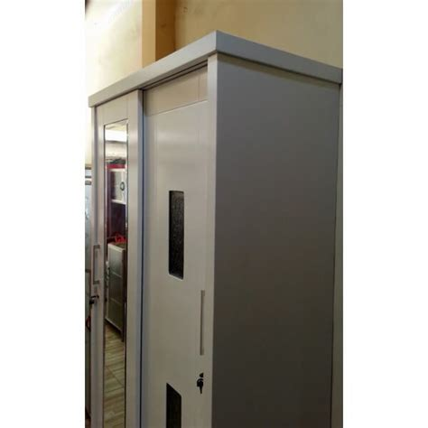 Lemari Pakaian Pintu 2 lemari pakaian pintu geser 2 pintu warna putih tak