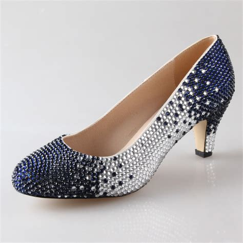 Navy And White Shoes For Wedding by Get Cheap Navy Blue Heels Aliexpress Alibaba