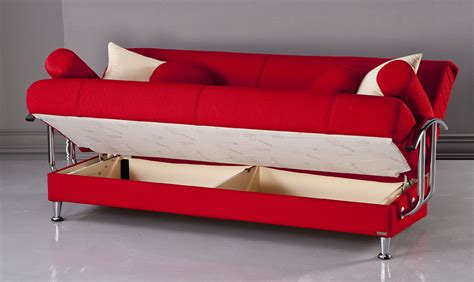 Best Tetris Red Convertible Sofa Bed By Sunset Best Sofa Bed