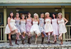 country wedding dresses with cowboy boots 2013