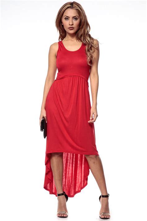 Maxi Hs high low maxi dress dressed up
