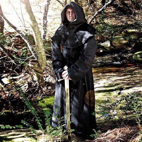 pilnatys black monk lrt live monk s robe hood
