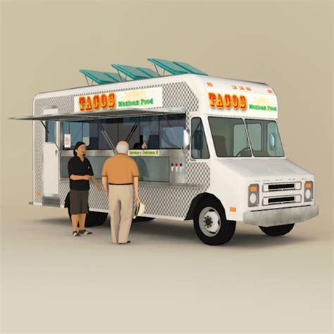 2020 Kitchen Design Free Download catering truck 3d model formfonts 3d models amp textures