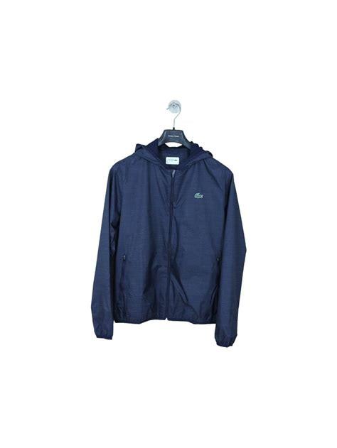 Sports Hooded Zip Jacket lacoste sport hooded zip through jacket in navy northern