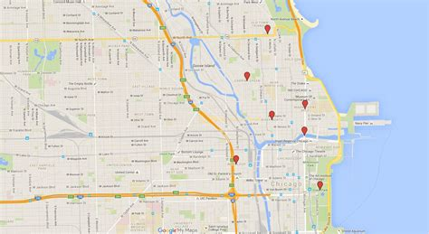chicago map 2016 chicago seen on tv an interactive map of windy city shows