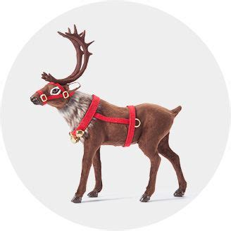 funny christmas treelights with deer outdoor decorations target