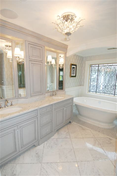 gray master bathroom ideas traditional gray master bath