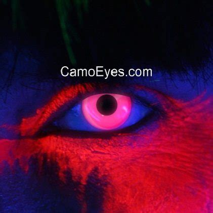 pink uv glow contacts | camoeyes.com