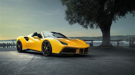 ferrari car 2016 2016 ferrari 488 gts novitec rosso wallpaper hd car