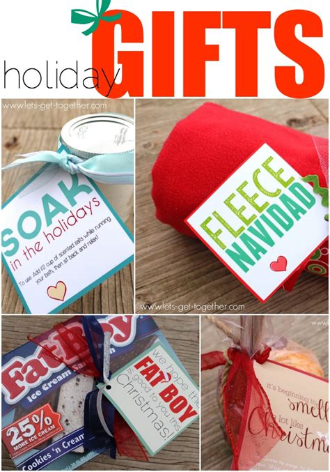 4 easy christmas neighbor gifts printables