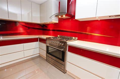 tile splashback ideas pictures red painted kitchens select kitchens melbourne metropolitan phil watson 1