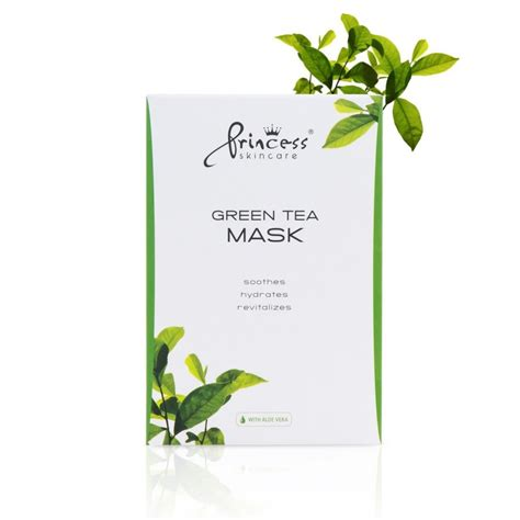 Princess Detox Tea by Princess Green Tea Mask Croma 1 Health