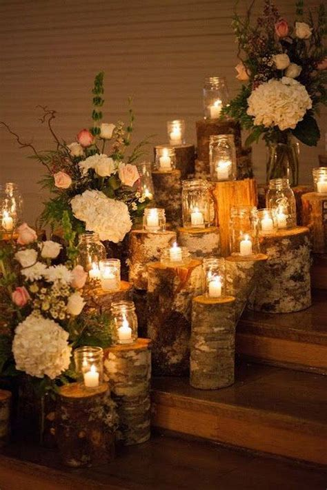 40 chic wedding ideas using candles wedding