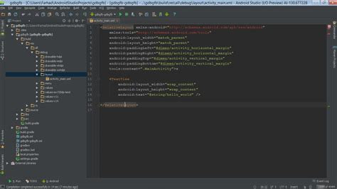android studio layout preview not showing java where is android studio layout preview stack