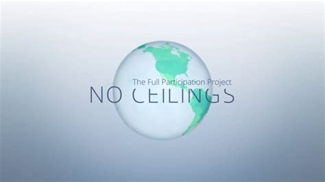 No Ceilings Initiative by Calartians Work Featured In Commissioned By Clinton