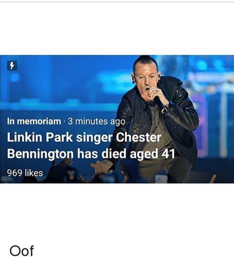 100 Memes In 3 Minutes - in memoriam 3 minutes ago linkin park singer chester