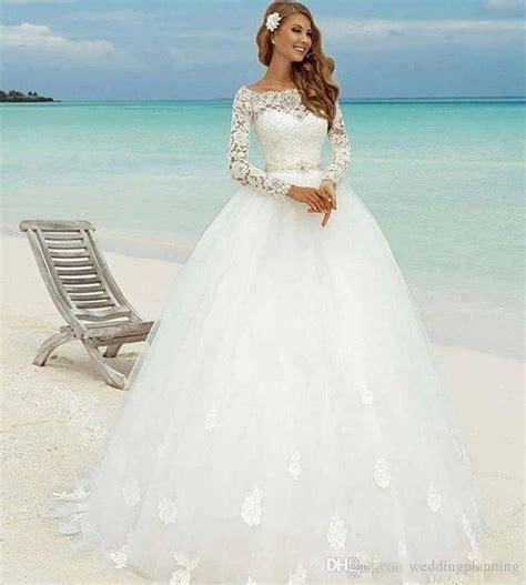 beach wedding dresses guest 2017 discount 2017 winter long sleeve beach wedding dresses