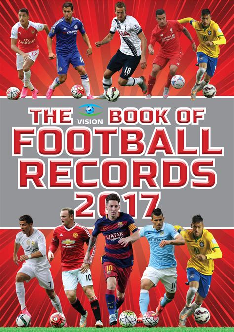 vision book of football 1909534528 the vision book of football records 2017 newsouth books