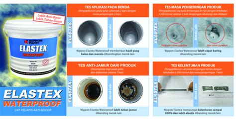 Cat Pelapis Waterproof Nippon Paint On Quot Mari Kita Lihat Perbandingan