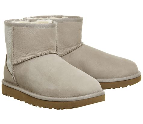 mini snake ugg classic mini snake ceramic suede ankle boots