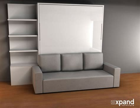 murphysofa king size murphy bed with sofa expand