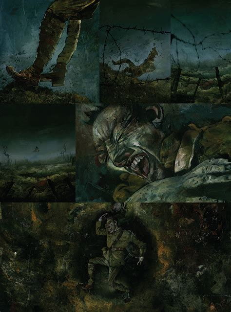 black dog american gods dave mckean channels wwi surrealism in new original graphic novel blog dark horse comics