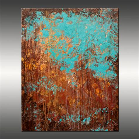 modern paint original abstract modern painting title recollection