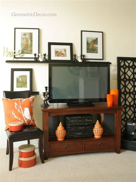 home compre decor design online decorating around a flat screen tv from the tv by